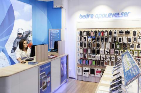 Telenor ruller ut 77 egne butikker