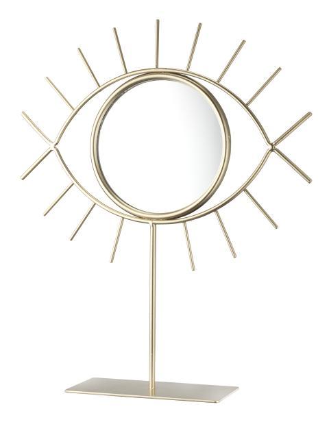 Spejl DARIUS 21x25 cm m. fod guld (49,95 DKK)