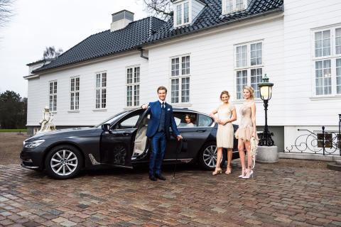 BMW 7-serien er populær
