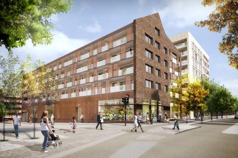 Sten Nordin (M): 152 miljöklassade hyresrätter till Norra Djurgårdsstaden