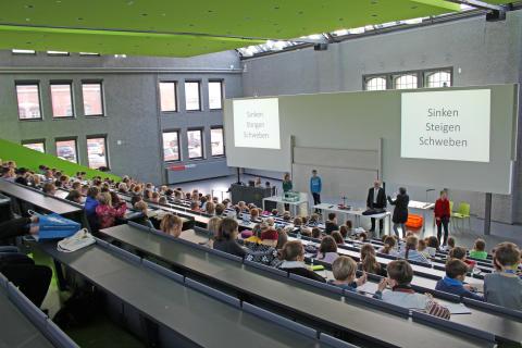 11. Kinderuniversität an der Technischen Hochschule Wildau