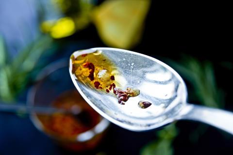 Zeta miljöbild sked med olivolja