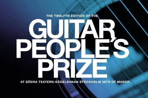 Guitar People's Prize presenterar årets pristagare!