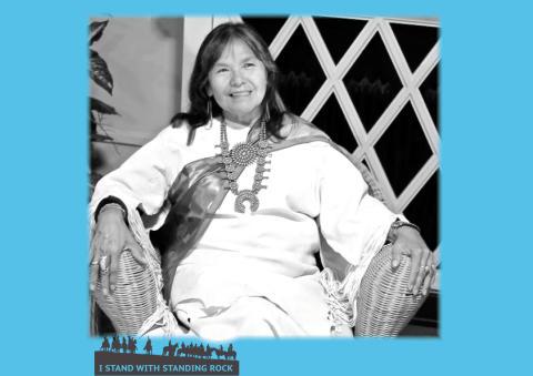 Indigenous Grandmother Mona i Stockholm 24/11! En kväll om naturens rättigheter, hotet mot vårt vatten och hur vi kan mötas i en turbulent värld