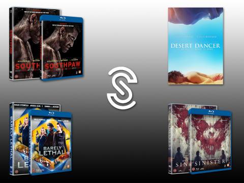 Nyheter från Scanbox Entertainment på BLU-RAY, DVD och DIGITALT i december