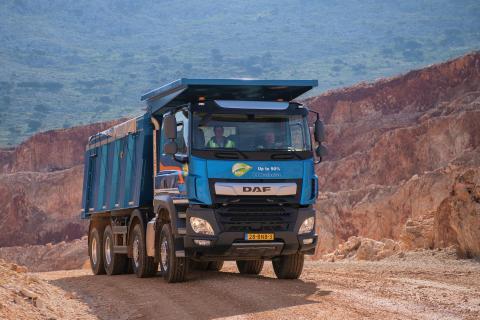"""DAF CF Construction har utsetts till """"TOP BAU TRUCK"""" i Slovakien"""