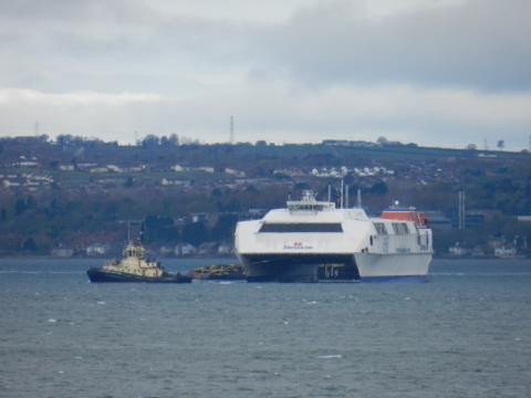Stena Voyager Makes Final Journey