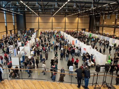 Dags för årets Jobbmässa på Conventum Arena, Örebro