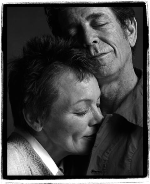 Lou Reed og Laurie Anderson