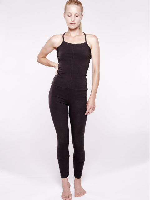 YOIQI Jumpsuit cross Black_Source YOIQI