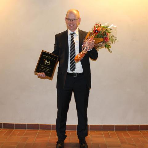 Joachim Wersén vinner Handslaget 2016!