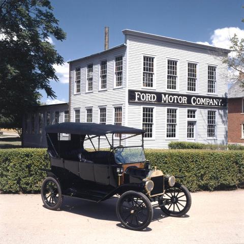 T-Forden firar 100 år