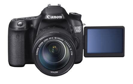 Utnyttja möjligheterna med nya Canon EOS 70D