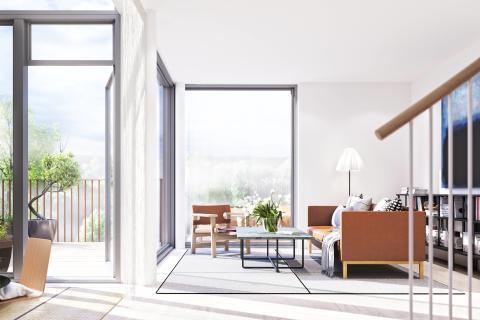 Aktiva huset lanseras i Norra Djurgårdsstaden