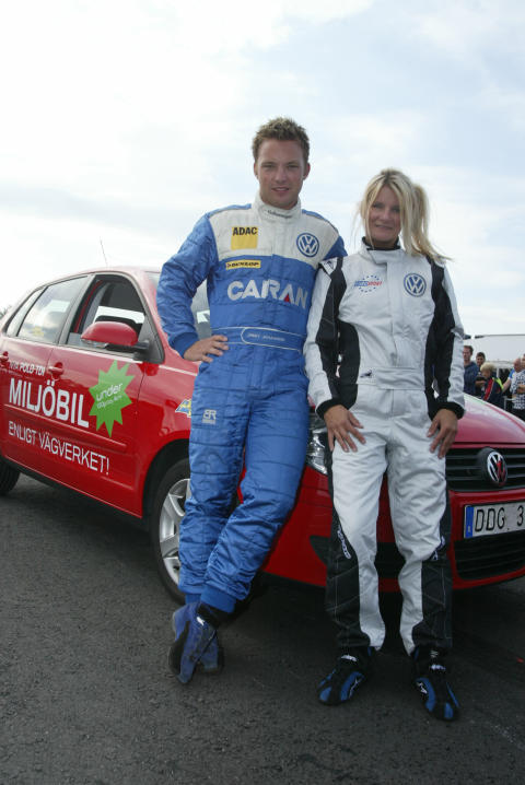 Annie Seel och Jimmy Johansson