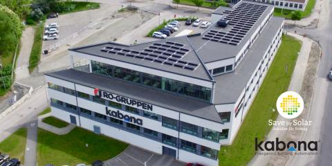 Nordomatic och Save by Solar i samarbete kring solceller