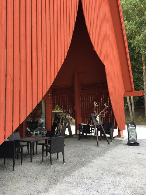 """Eriksbergs gårdsbutik och kafé  """"Outdoor Eriksberg"""""""