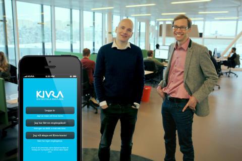 Den mobila Posten-utmanaren Kivra lanserar app och responsiv webbtjänst som gör det möjligt att börja ta emot, hantera och arkivera post direkt i mobilen.