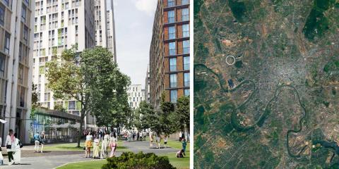 Semrén & Månsson vinner stadsplanetävling i Moskva