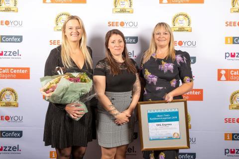 DHL Express vant Kundeserviceprisen 2019