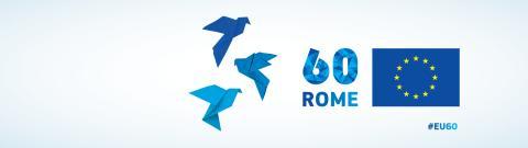 Treaty of Rome banner