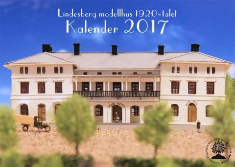 Ny kalender med motiv från modellstaden Lindesberg