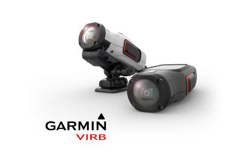 Garmins nya, kompakta, vattentäta action-kameror VIRB™ och VIRB Elite