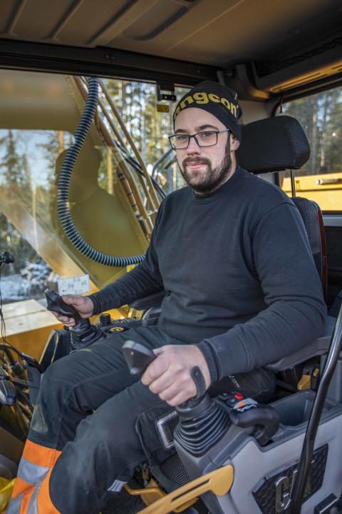 Kristoffer Westman, Sundbergs Åkeri