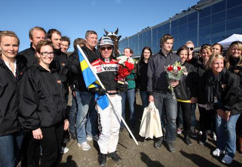Triton Sund vann Olympiatravet – och den olympiska rörelsen fick 10,4 miljoner kronor