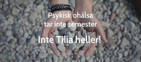 Tilia finns kvar för unga med psykisk ohälsa hela sommaren