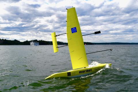 KTH:s självseglande båt Maribot Vane.