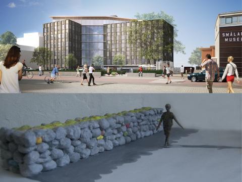 Invigning: Södra bantorget och det offentliga konstverket På väg