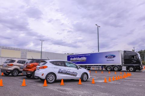A hétvégén ismét megrendezték a Ford fiataloknak szóló globális, ingyenes vezetéstechnikai programját Budapesten