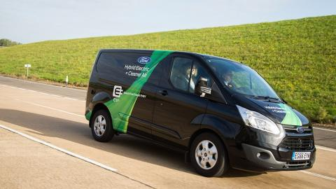Ford Transit Custom Plug in Hybrid 2018