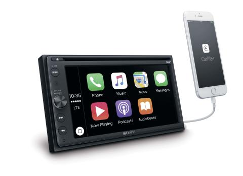 Sony_XAV-AX205DB_Angle_Apple_CarPlay