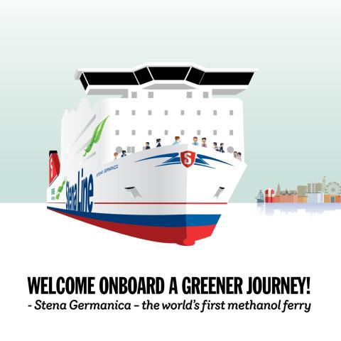 Stena Germanica – die erste Fähre mit Methanolantrieb