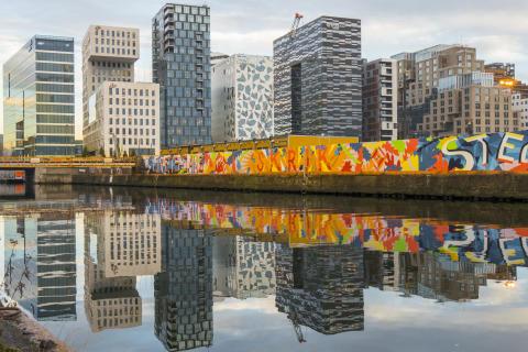 Bestens vernetzt: Das Land Norwegen ist Vorbild für die Digitalisierung deutscher Behörden.