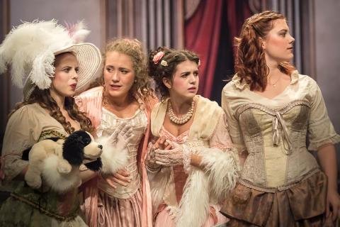Das Beste aus Molières Komödien am Goetheanum. Junge Bühne spielt ‹Palais Royal› unter Leitung von Andrea Pfaehler