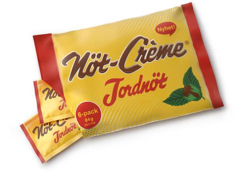 Nöt-Crème Jordnöt 6-pack