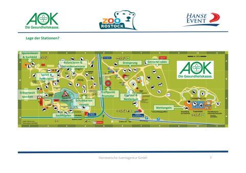 Tierische Olympiade - Lageplan