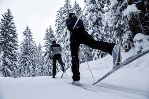 XC Test Tour 2017 - längdskidor på Sverigeturné