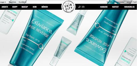 Skincity.se lanserar nytänkande m-butik
