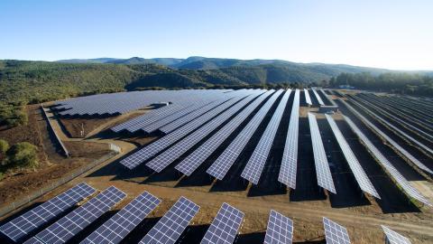 RES inaugure le parc solaire Lé Camazou (Aude) - 12 MWc