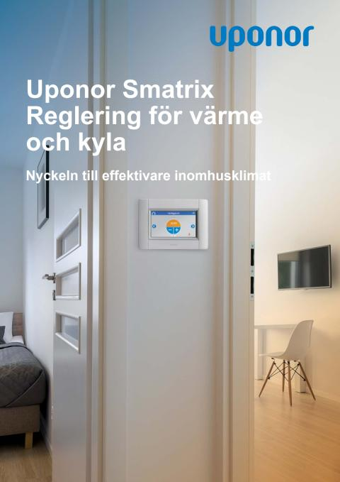 Uponor Smatrix Reglering för värme och kyla