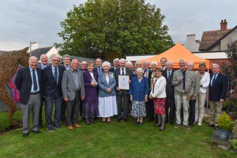 Brighter Whitehead recieves Royal award