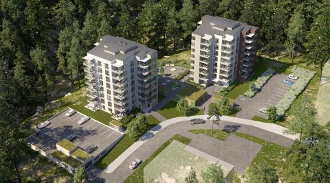 Godkänt bygglov för HSB brf Odlaren 1 i Eskilstuna