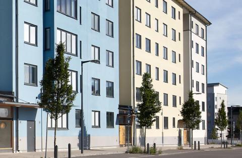 Weber tar funktionsansvar för putsade fasader i 10 år