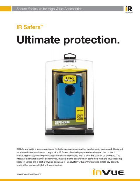 Varularm från Gate Security - IR Safers, InVue
