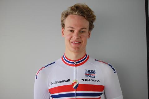 Henrik Evensen under sykkel-VM 2016