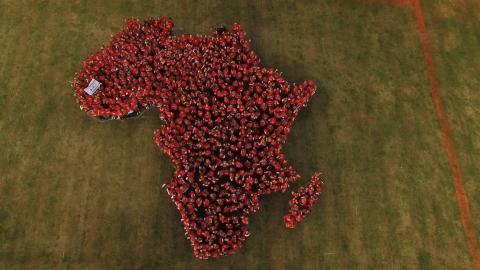 Spirit of Belron Challenge samlar in över en miljon euro och slår Guinness World Records titel